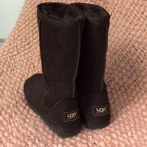 Ugg tall chocolate brown boot
